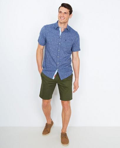 Hemd met jeanslook